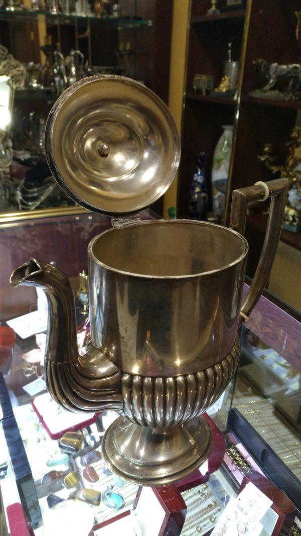 антиквариат, купить серебро украина, подарок, серебро, элитная посуда, серебряный чайник украина купить