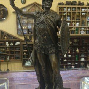 """Бронзовая статуэтка """"Римский полководец"""""""