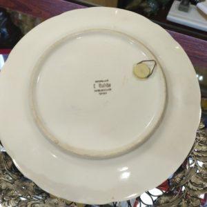 Декоративная тарелка Пара попугайчиков