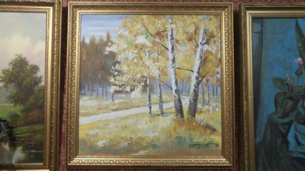 подарок для коллекционера, современная живопись, купить картину маслом, подарок на свадьбу, Живопись пейзаж природы
