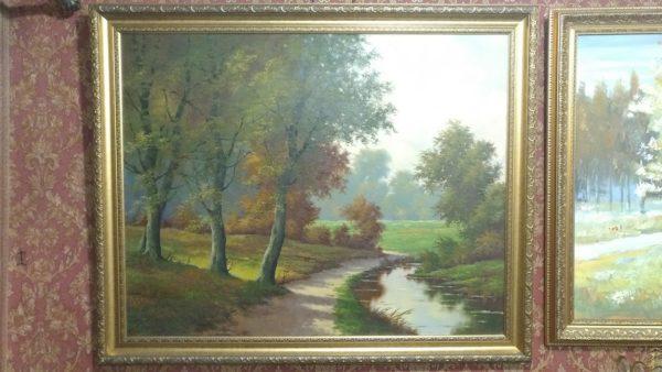 пейзаж картина купить, подарок для коллекционера, современная живопись, купить картину маслом, подарок на юбилей, пейзажная живопись