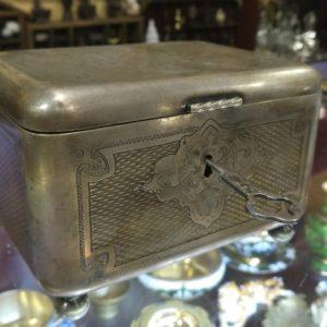 Шкатулка с ключем