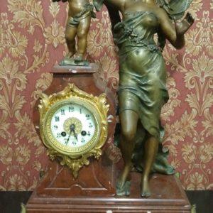 Каминные часы Амур и Психея