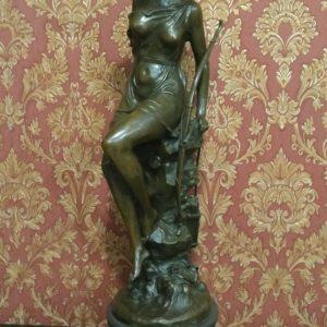 Бронзовая скульптура Богиня Диана