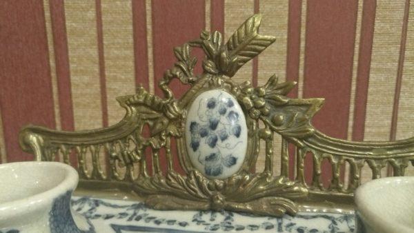 чернильница, оригинальные подарки, антиквариат, подарок мужчине, бронза