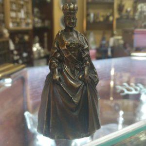 Бронзовый колокольчик Королева