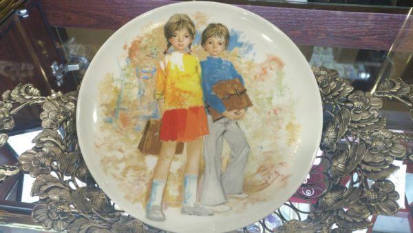 Декоративная тарелка, купить декоративные тарелки, купить тарелки на стену, немецкий фарфор, купить антиквариат украина, декоративные тарелки украина