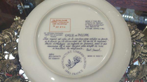купить декоративные тарелки, купить тарелки на стену, немецкий фарфор, купить антиквариат украина, декоративные тарелки украина