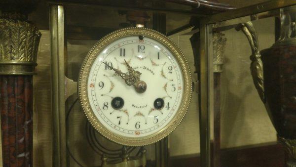 каминные часы из бронзы, каминные часы с боем,антикварные каминные часы, интерьерные часы, антиквариат часы, ртутные часы