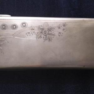 Антикварная сумочка, серебро 84 пробы