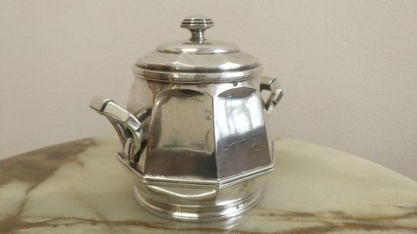 сахарница, украшение обеденного стола, купить столовое серебро, антикварное столовое серебро