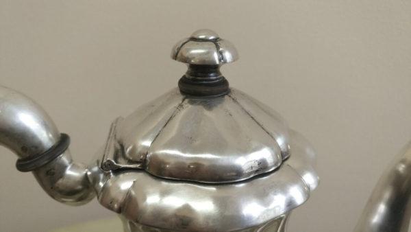 серебряный чайник, купить красивый чайник, чайник в подарок, антикварный чайник