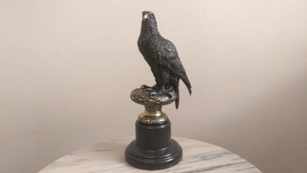 бронзовый орел, орел на ветке, статуэтка орла, купить орла в украине, купить статуэтку из бронзы