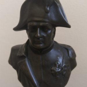 Бронзовый бюст Наполеон Бонапарт