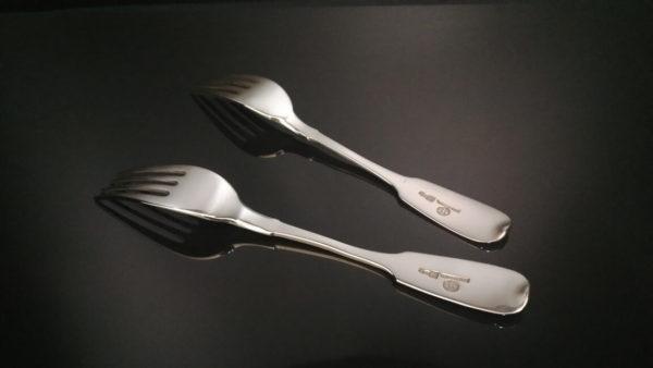 хлебников, антикварные вилки, серебряные вилки, подарок коллекционеру антиквариата