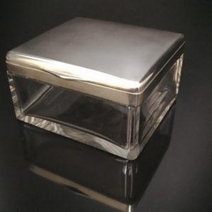 Серебряная шкатулка для украшений
