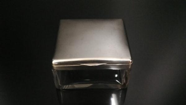 Серебряная шкатулка для украшений, статусный подарок, антикварная шкатулка, солидный подарок женщине