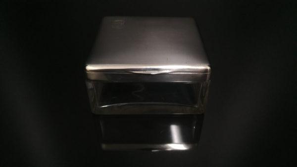 Серебряная шкатулка для украшений с гербом, антикварная шкатулка, серебряная шкатулка, статусный подарок, шкатулка для украшений