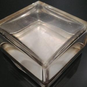 Серебряная шкатулка для украшений с гербом