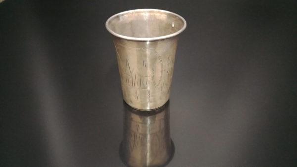 еврейские традиции, что подарить еврею, кидушный стакан, серебро царская россия, антикварное серебро, подарок коллекционеру, купить антиквариат в украине