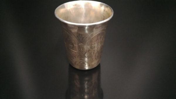 иудейские традиции, шаббат, кидушный стакан, стакан для кидуша, подарок еврею, антиквариат винница, антиквариат киев, антиквариат одесса