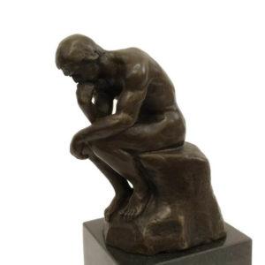Бронзовая скульптура Мыслитель. Огюст Роден