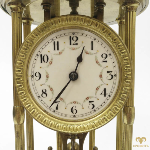 настольные часы в позолоте купить украина, редкие настольные часы купить украина
