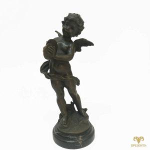 Бронзовая скульптура Бог любви Амур