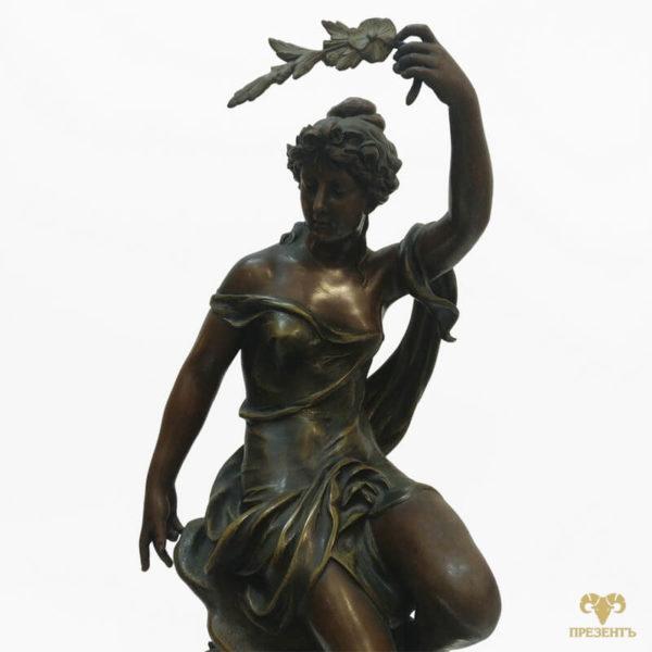 богиня аврора, каминные часы эмалевый циферблат, купить элитный подарок в украине, чем удивить ценителя искусства, подарок коллекционеру часов, шикарный подарок бизнесмену