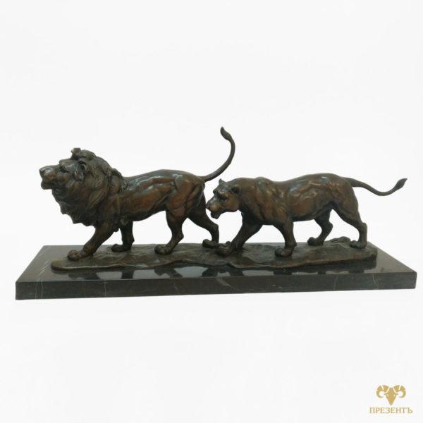 Подарок знак зодиака лев, красивое изображение льва, скульптура Лев, бронзовый лев, купить бронзового льва, лев символ, лев и символ