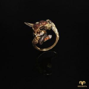 Необыкновенное золотое кольцо Пустнынная лиса фенек