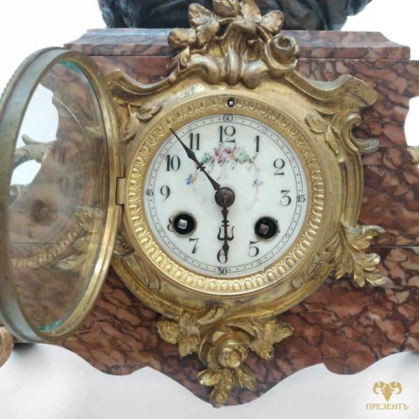 антикварные каминные часы, интерьерные часы, антиквариат часы украина