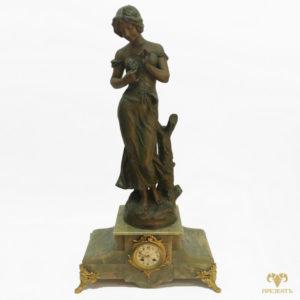 Каминные часы Fleur de Mai (Майский цветок). Автор Aristide De Ranieri