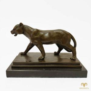 Бронзовая скульптура Пантера