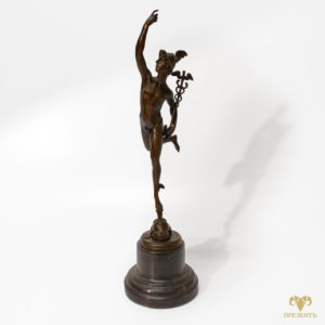 Бронзовая скульптура Меркурий – бог торговли