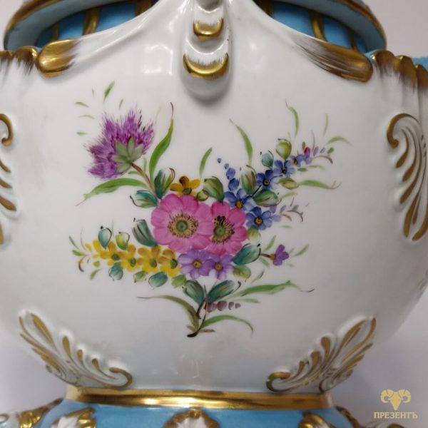 Супница-бульонница, фарфор, Германия, фарфоровый сервиз, подарок на свадьбу одесса, элитный подарок киев
