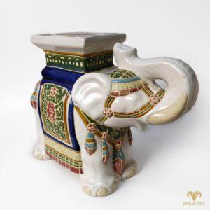 Подставка под цветы Слон. Керамика
