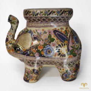 Напольная керамическая подставка под цветы