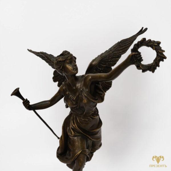 авторская статуетка, авторская статуэтка, бронза, литая бронза, подарок мужчине, подарок начальнику,Богиня победы, Бронзовая скульптура Ника