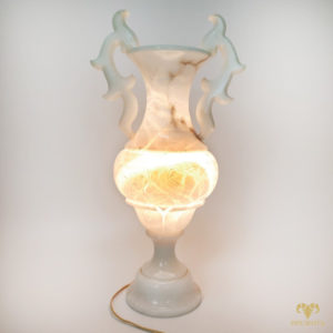 Светильник из мрамора. Ночник