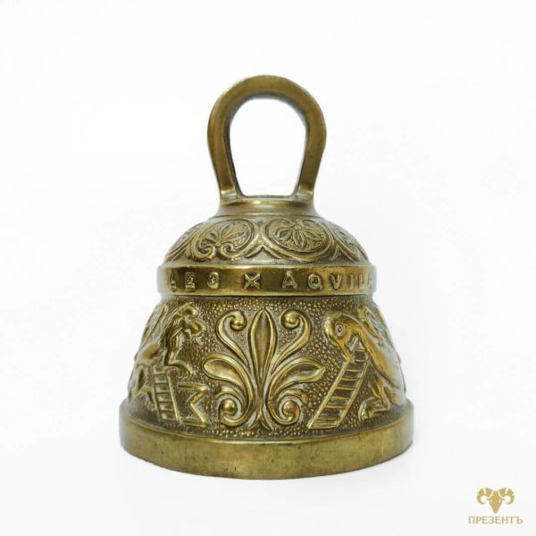 старинный колокольчик, бронзовый колокольчик, оригинальный колокольчик, подарок коллеге по работе, подарок коллекционеру колокольчиков