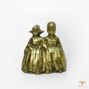 Бронзовый колокольчик Две дамы
