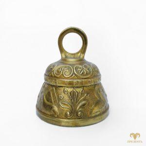 Английский бронзовый колокольчик