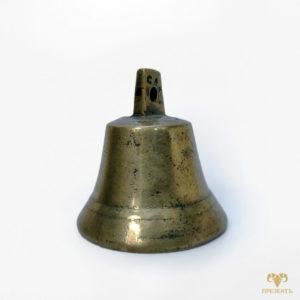 Антикварный бронзовый колокольчик