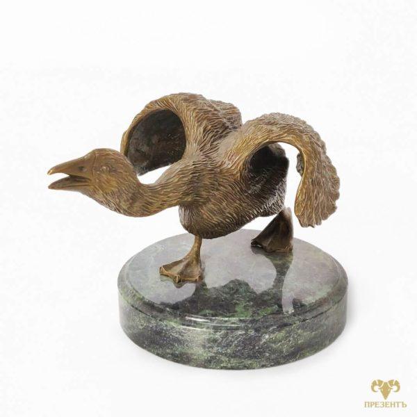 гуси лебеди, пара птиц статуэтка, фигурки птиц купить, гусь статуэтка купить, фигура гуся,
