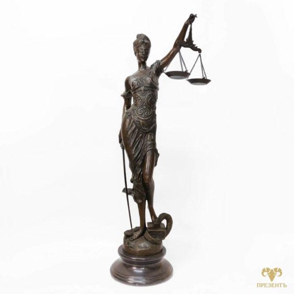 бронзовая статуэтка фемида, богиня правосуди фемида, богиня правосудия юстиция, фемида богиня, фемида бронза,