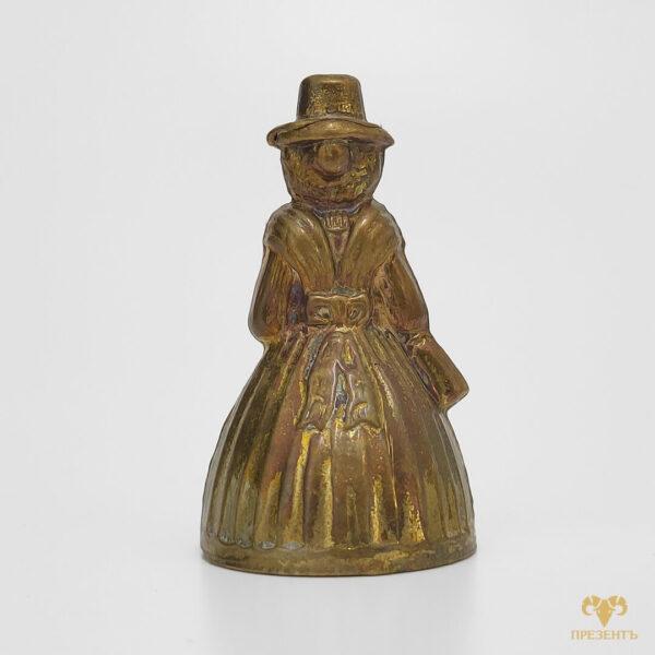 настольный колокольчик, винтажный колокольчик, коллекционный колокольчик, бронзовый колокольчик, антикварный колокольчик купить, подарок жене на годовщину