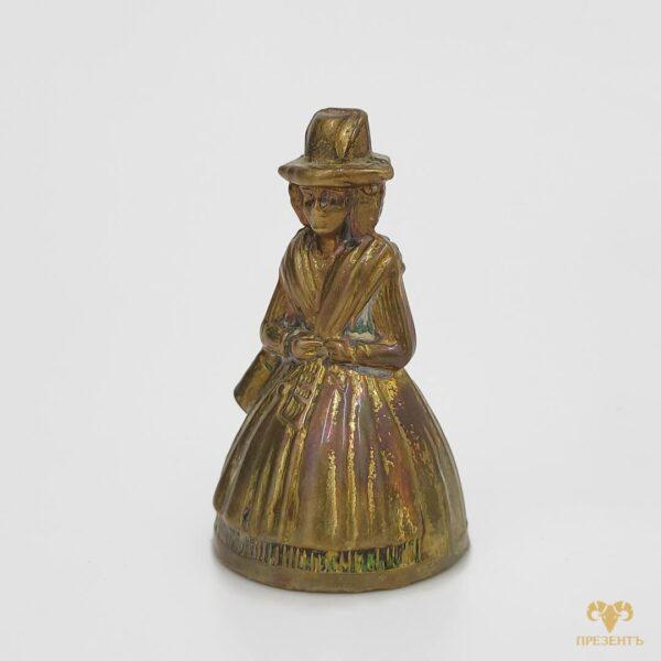 Lady Bells колокольчик, купить подарок на новоселье, купить сувенирный колокольчик, колокольчиксувенир, колокольчик дама в платье, подарок владельцу ресторана, подарок на открытые ресторана